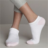 Gildan Ladies' No Show Socks (6 Pairs)
