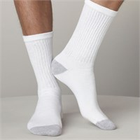 Gildan Men's Crew Socks (6 Pairs)