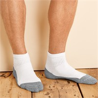 Gildan Platinum Ankle Socks (6 Pairs)