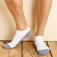 Gildan Platinum No Show Socks (6 Pairs)