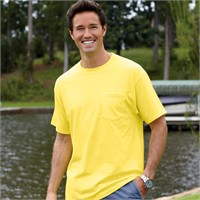 Hanes Beefy-T  Pocket T-Shirt