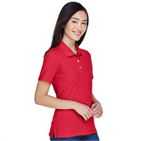 Harriton Ladies' Easy Blend Polo Shirt