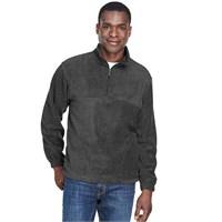 Harriton Quarter-Zip Fleece Pullover