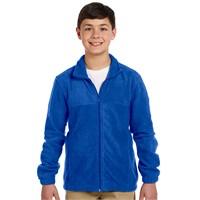 Harriton Youth Full-Zip Fleece
