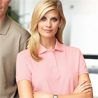 Izod Ladies' Silk-Wash Pique Polo