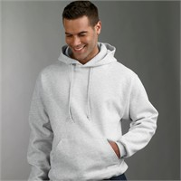 Jerzees SuperSweats Hooded Pullover Sweatshirt