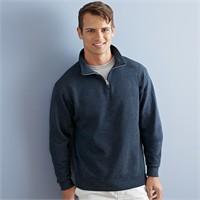 Jerzees NuBlend 50/50 Quarter-Zip Cadet Collar Sweatshirt