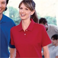 Jerzees Ladies' Classic Cotton Pique Polo Shirt