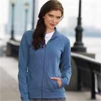 LAT Ladies' French Terry Cadet Jacket