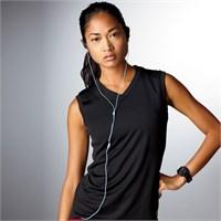 New Balance Ladies' Ndurance Athletic V-Neck Workout T-Shirt
