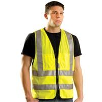 OccuNomix Solid Dual Stripe Vest