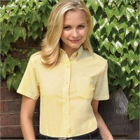 Van Heusen Ladies' Short-Sleeve Wrinkle-Resistant Oxford