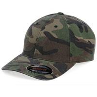 Yupoong Flexfit Cotton Camouflage Cap